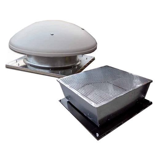 اگزاست فن محوری سقفی سری Roof-AM & Roof-AVE