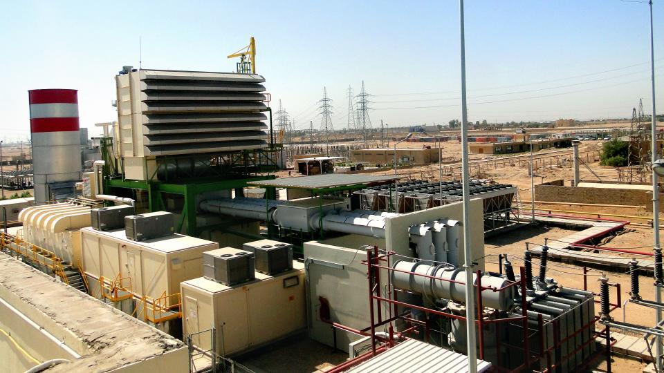 نیروگاه گازی DIBIS عراق